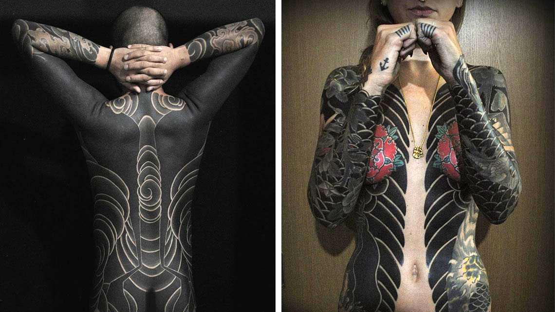 Bold Japanese Tattoos That Looks Like Full Body Suits - Japan Inside