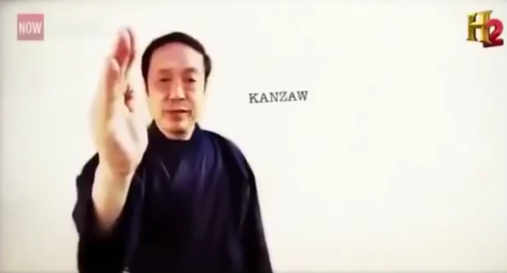 Japanese Master Demonstrates The Power Of Chi By Controlling